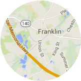 Map Franklin
